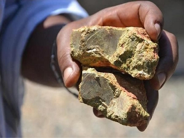 稀土矿检测